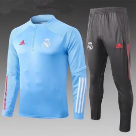 Chandal Entrenamiento FC Real Madrid 2021 Azul Niño