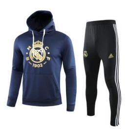 Chandal Real Madrid 2019/20 Negro Azul Amarillo