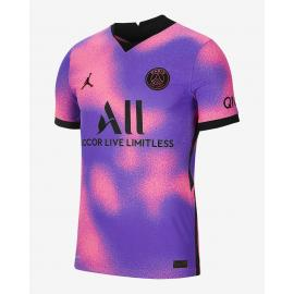 Camiseta de fútbol para hombre Paris Saint-Germain 2021/22 Vapor Match Fourth Niño