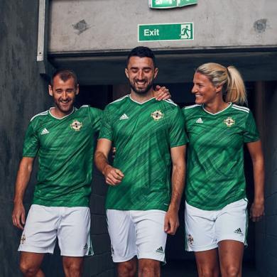 Camisetas de Irlanda del Norte fútbol 2019/2020 Primera Camiseta