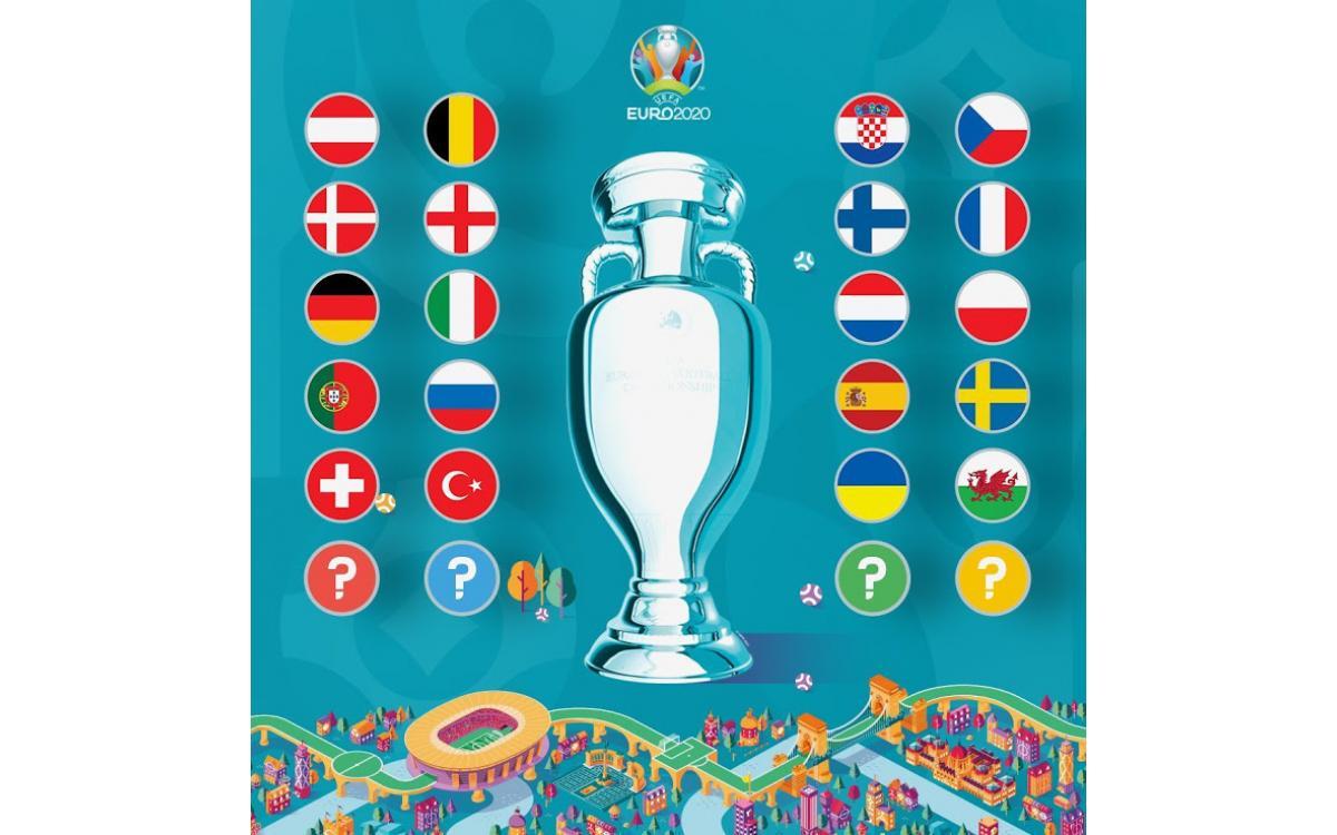 Camiseta de la Copa de Europa 2020