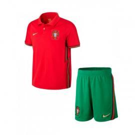 Camiseta Portugal Breathe Primera Equipación 2020-2021 Niño