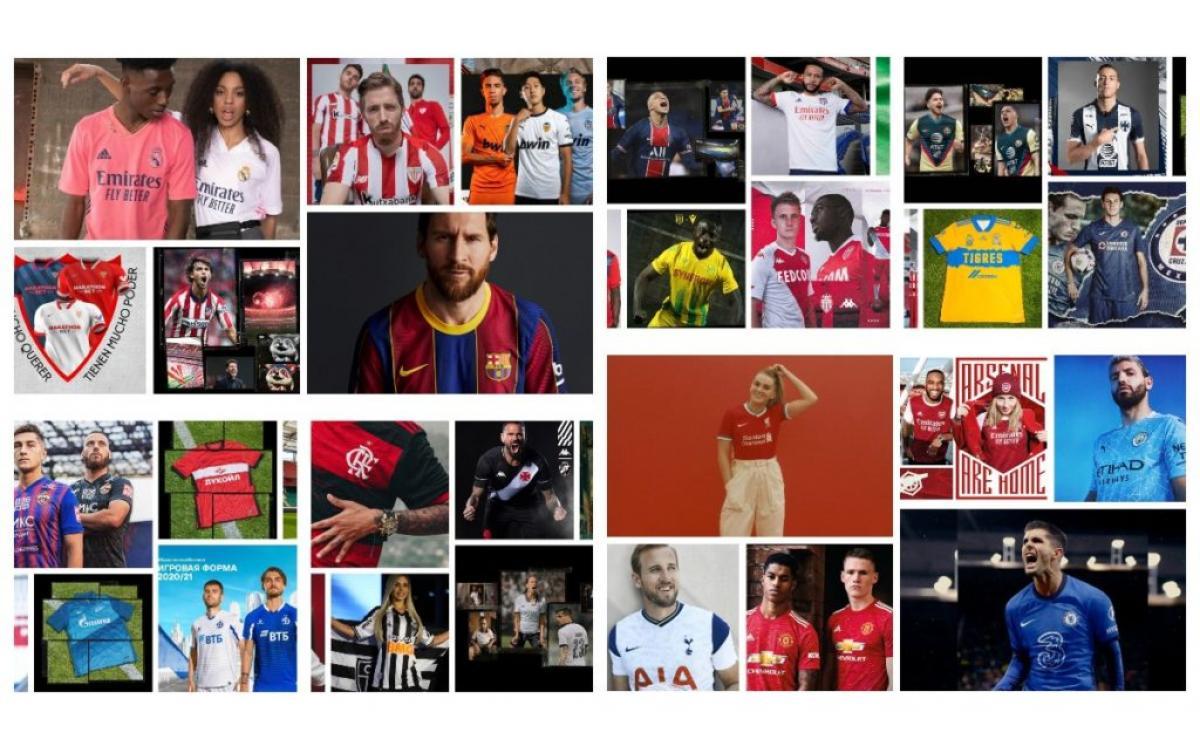 Un especial que da la vuelta al mundo: Camisetas de Fútbol 2020-21
