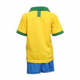 Camiseta Brasil 1ª Equipación 2019 Niño Kit