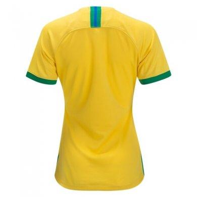 Camiseta Brasil 1ª Equipación 2019 Mujer