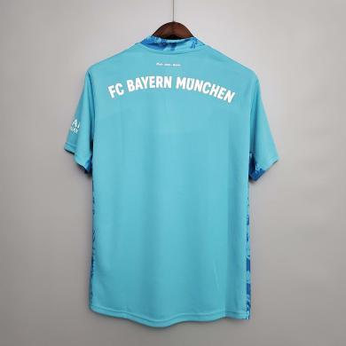 Camiseta Bayern Múnich Portero Celeste 2020/2021