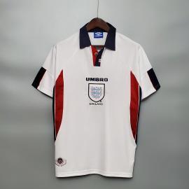 Maillots Inglaterra DOMICILE Retro 1998