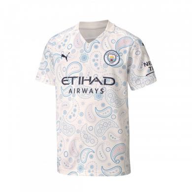 Camiseta Manchester City Fc Tercera Equipación 2020-2021 Niño