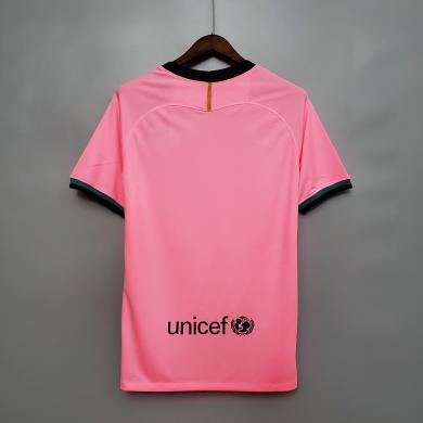 Camiseta Rosa del FC Barcelona para la Temporada 2020/21