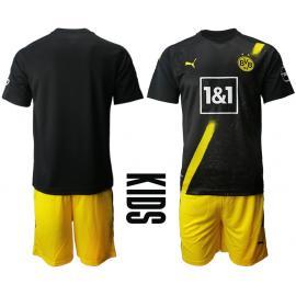 Camiseta Borussia Dortmund 2ª Equipación 2020/2021 Niño