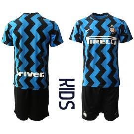 Camiseta Inter De Milán 1ª Equipación 2020/2021 Niño