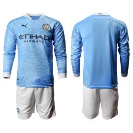 Maillots Manchester City DOMICILE 2020/2021 ML