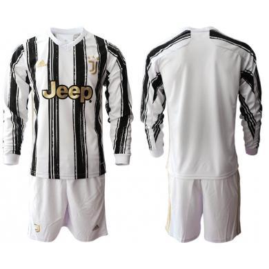Primera Equipacion Camiseta Juventus Manga Larga 2020/2021