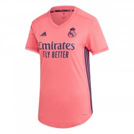 Maillots Real Madrid EXTÉRIEUR 2020/2021 Mujer