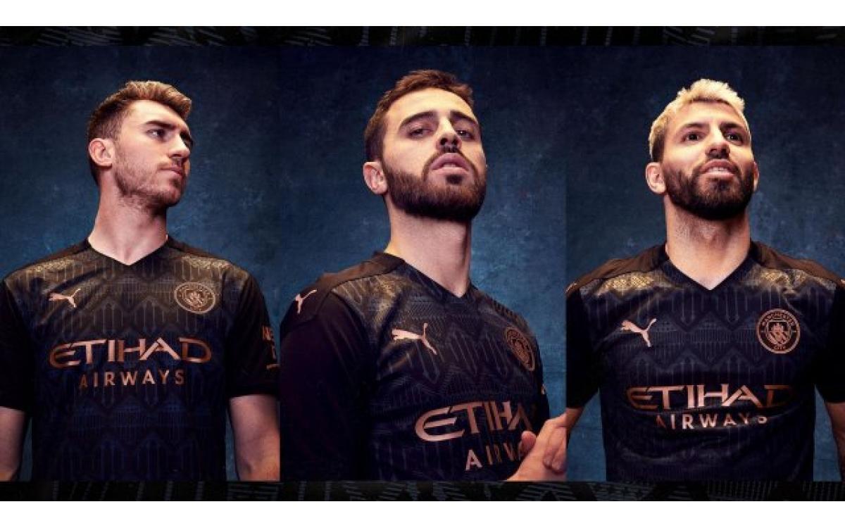 El Manchester City muestra su llamativa camiseta visitante 2020-2021