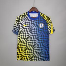 Camiseta 21/22 Chelsea Azul Y Amarillo