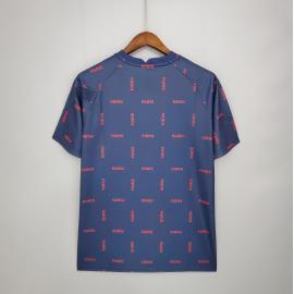 Camiseta 21/22 PSG Training Suit Royal Blue