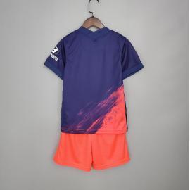 Camiseta Atlético De Madrid 2ª Equipación 2021/2022 Niño