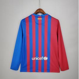 Camiseta Barcelona 1ª Equipación 2021/2022 ML