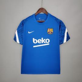 Camiseta Barcelona Entrenamiento 21/22 - Azul