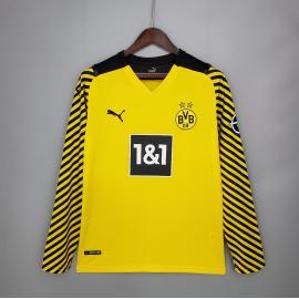 Camiseta Borussia Dortmund 1ª Equipación 2021/2022 ML