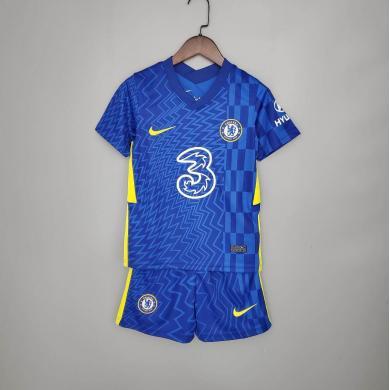 Camiseta Chelsea Fc Primera Equipación 2021-2022 Niño