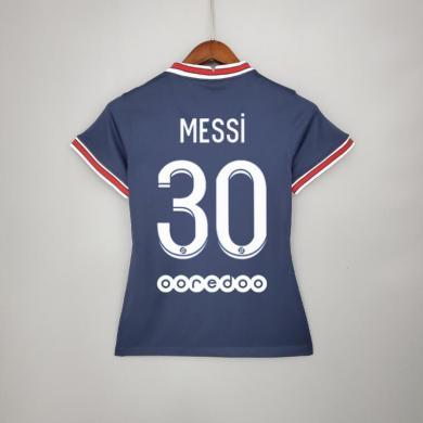Camiseta De Messi En El PSG Primera Equipación 2021-2022 Mujer