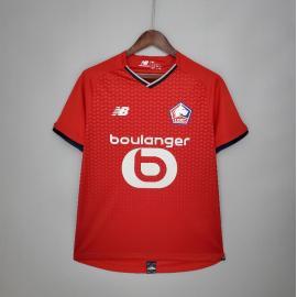Camiseta Lille Olympique Sporting Club Fc Primera Equipación 2021-2022