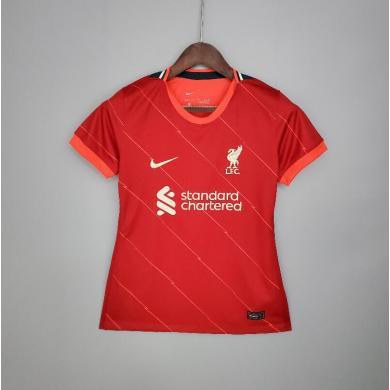 Camiseta Liverpool 1ª Equipación 2021/2022 Mujer