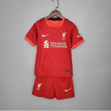 Camiseta Liverpool 1ª Equipación 2021/2022 Niño