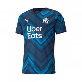 Camiseta Olympique de Marsella Segunda Equipación 2021-2022