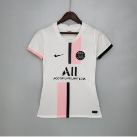 Camiseta Paris Saint-Germain Segunda Equipación 2021-2022 Mujer