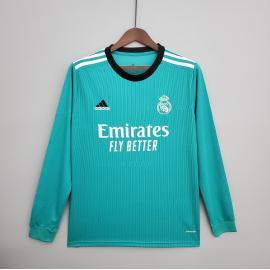 Camiseta Real Madrid Tercera Equipación 2021-2022 ML