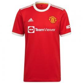 Camiseta Ronaldo 7 Manchester United Primera Equipación 2021/2022 Niño