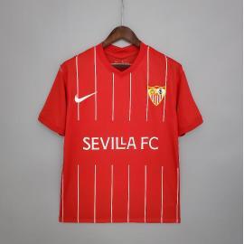 Camiseta Sevilla FC Segunda Equipación 2021/2022 Niño