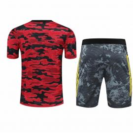 Camiseta de Entrenamiento Manchester United 2020/2021 Rojo
