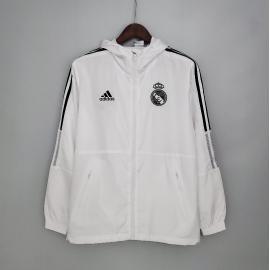 Rompevientos 2021 Real Madrid Blanco