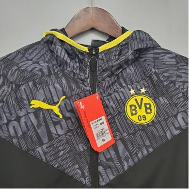 Rompevientos Borussia Dortmund Negra 2021/2022