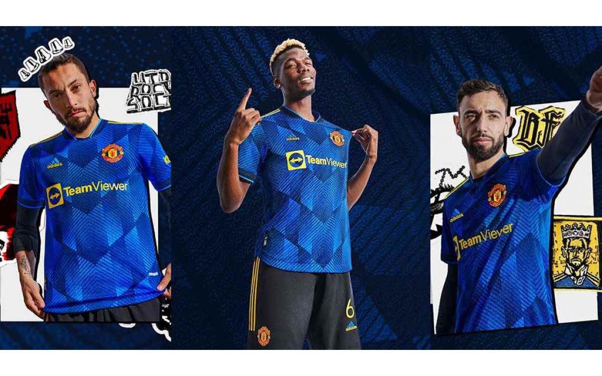 Así es la tercera camiseta adidas del Manchester United 21/22
