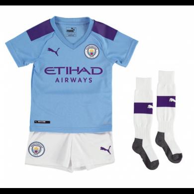 Camiseta de la 1.ª equipación del Manchester City 2019-20 para niños