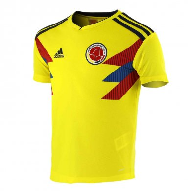 Camiseta Colombia 1ª Equipación 2018 Niños