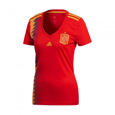 Camiseta España 1ª Equipación 2018 Mujer