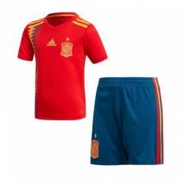 Conjunto De Camiseta España 1ª Equipación 2018 Niño