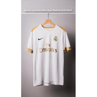 Camiseta Nike Real Madrid 2020/2021