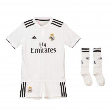 1ª equipación del Real Madrid 2018-19 para niños