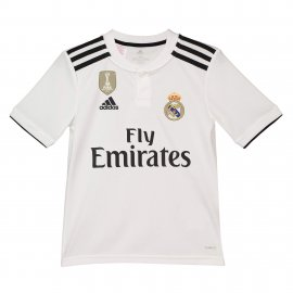 Camiseta de la 1ª equipación del Real Madrid 2018-19 para niños
