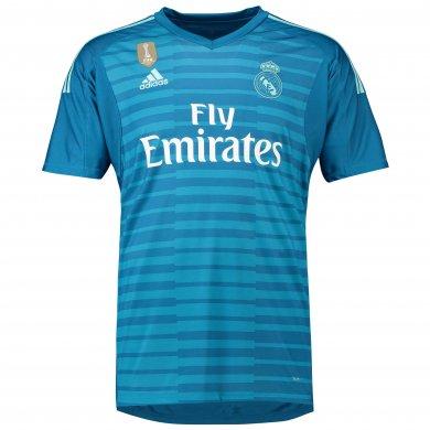 Camiseta de portero de la 2ª equipación del Real Madrid 2018-19