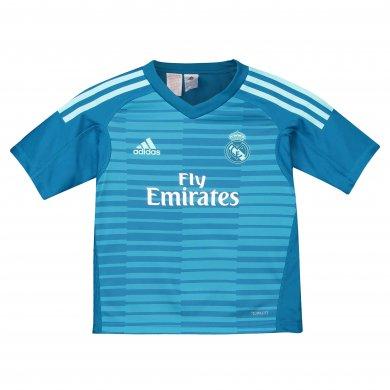 Conjunto mini 2ª equipación de portero del Real Madrid 2018-19 NIÑO