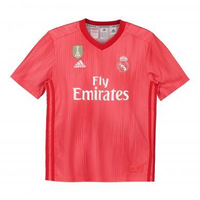 Camiseta de la 3ª equipación del Real Madrid 2018-19 para niños