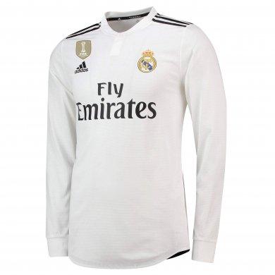 Camiseta de la 1ª equipación del Real Madrid 2018-19 de manga larga